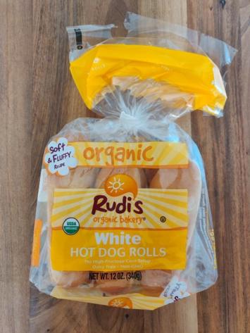 Rudi's - Organic Hotdog Rolls