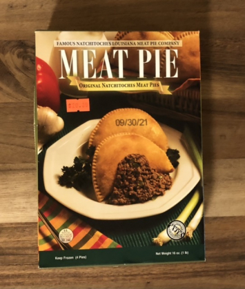 Natchitoches Meat Pies - 4 pies