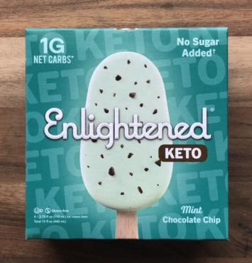 Enlightened Keto Ice Cream Bar - Mint Chocolate Chunk