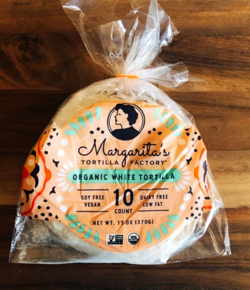 Margarita's - Organic White Tortilla (7 inch)
