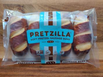 Pretzilla - Soft Pretzel Sausage Buns