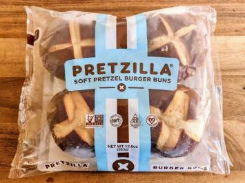Pretzilla - Soft Pretzel Burger Buns