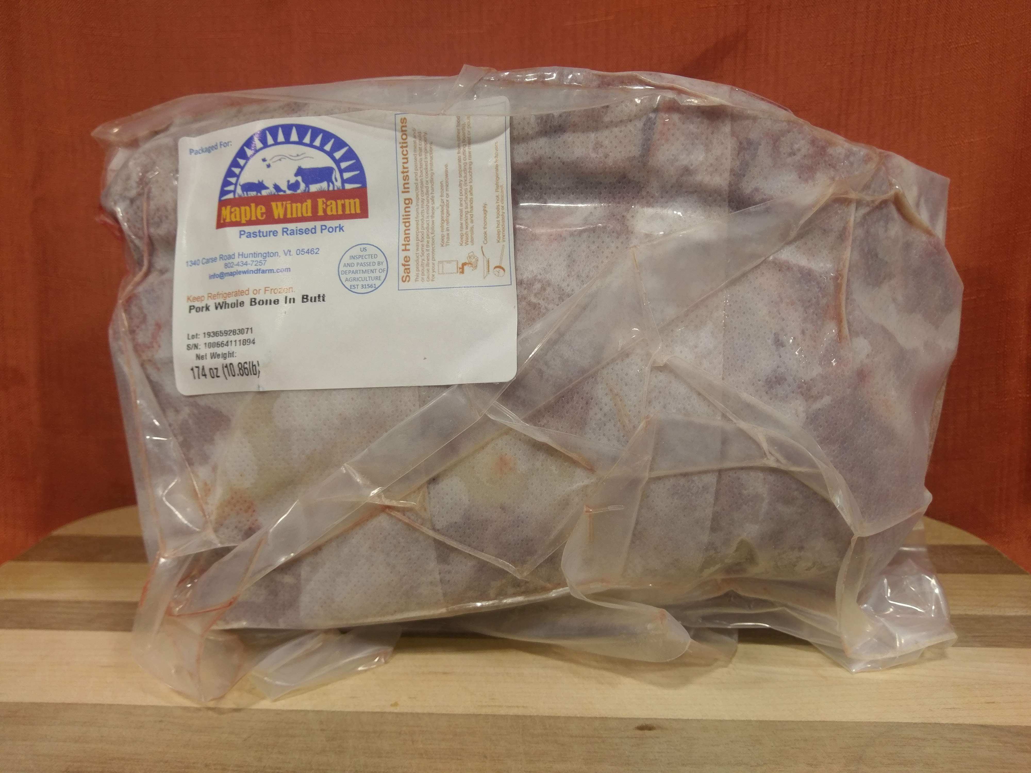Pork Roast Whole Butt (Bone-In)