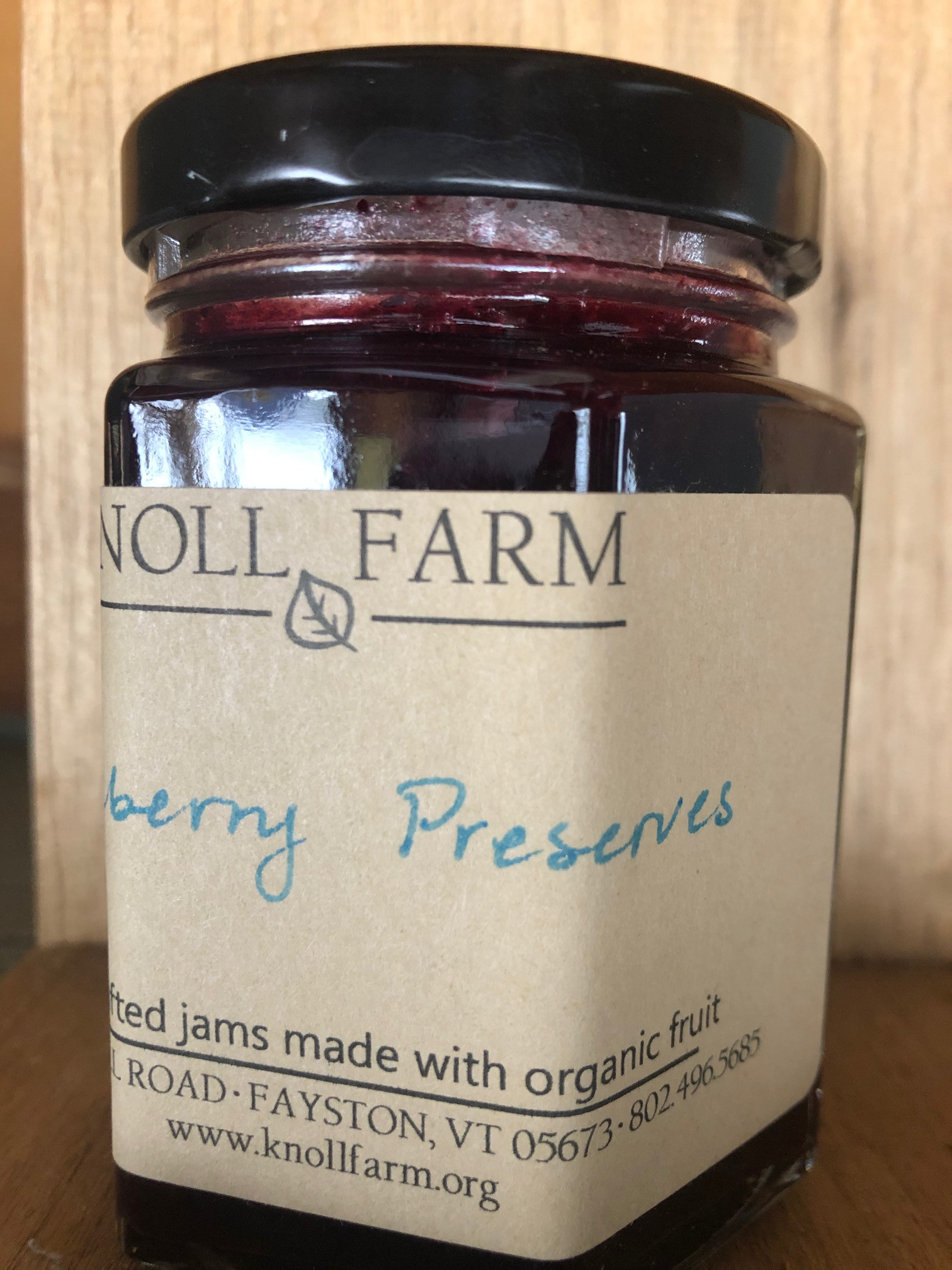 Blueberry Preserves - Knoll Farm