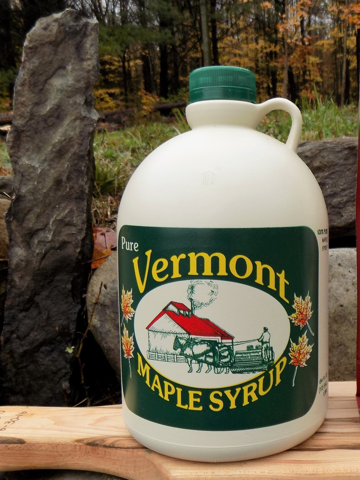 Maple Syrup 1/2 Gallon - Brigham Hill Maple