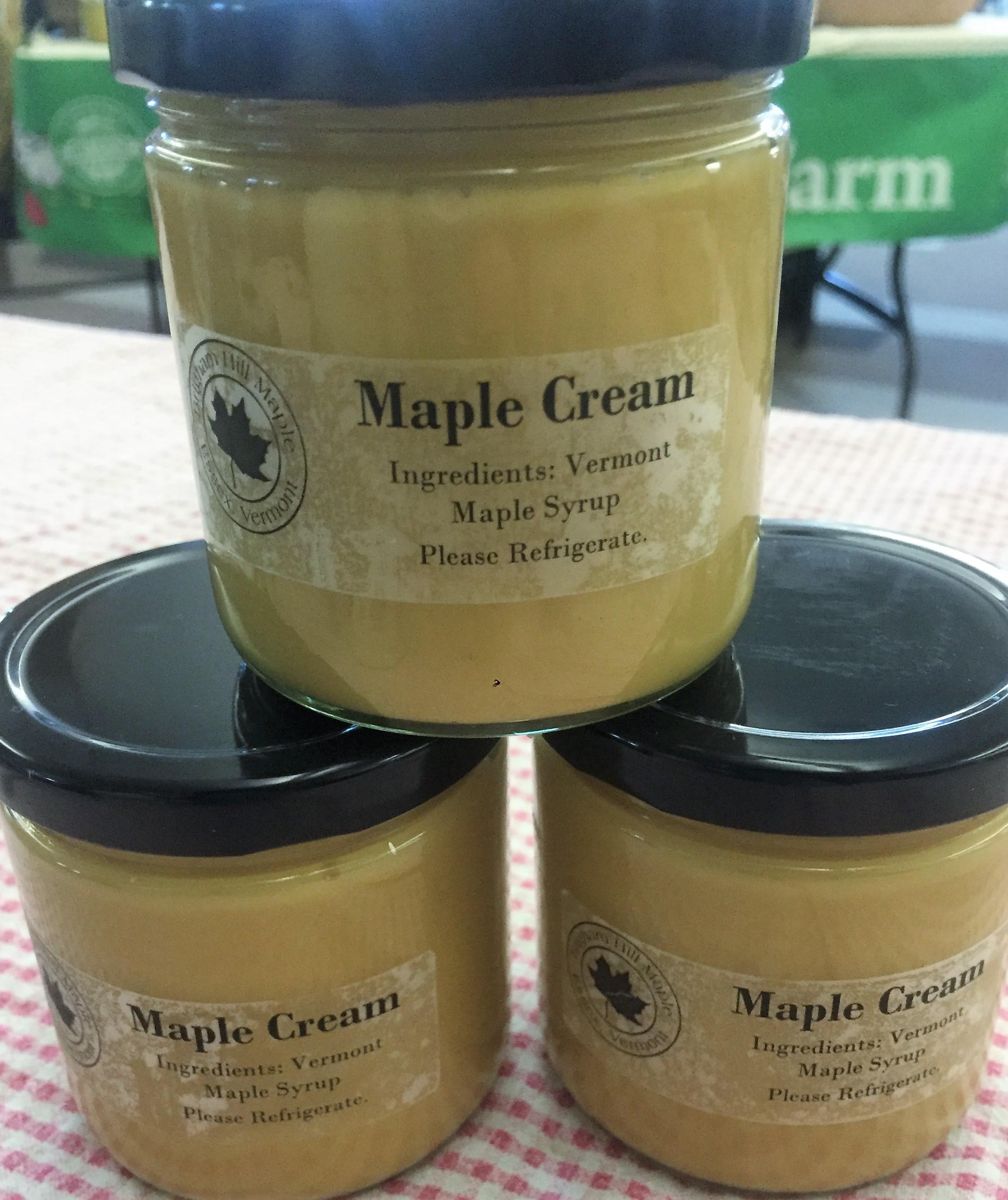 Maple Cream - Brigham Hill Maple