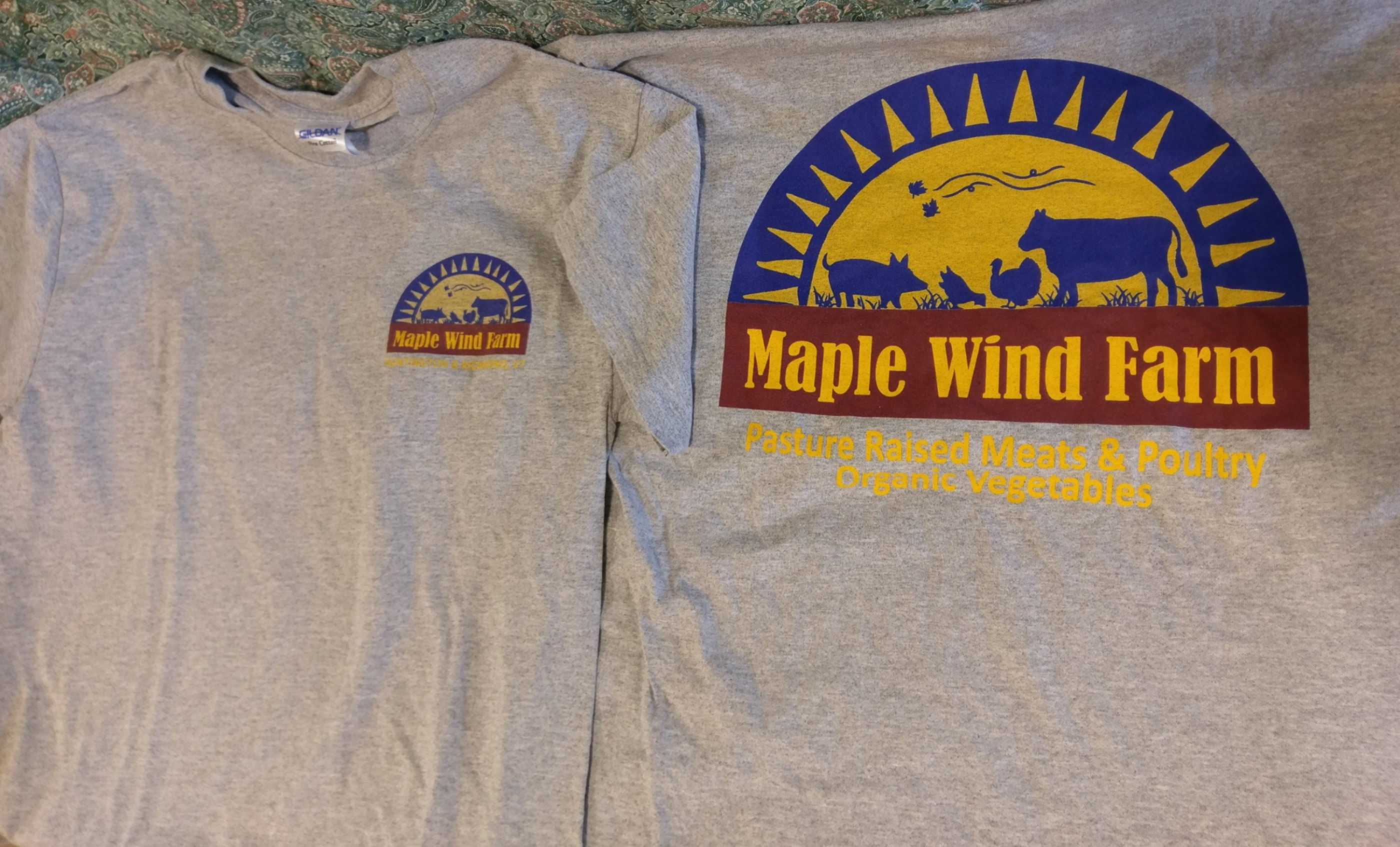 OG Maple Wind Farm T-Shirt - Medium (Grey)