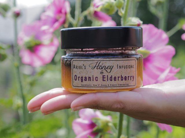 Ariels - Organic Elderberry Honey Infusion