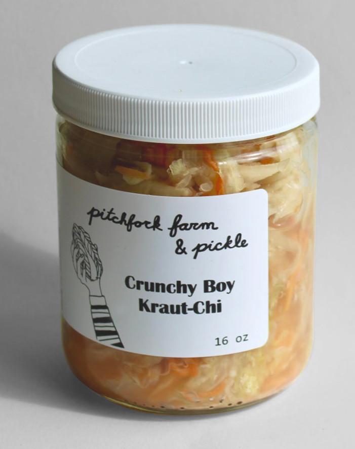 Pitchfork - Crunchy Boy Kraut-Chi