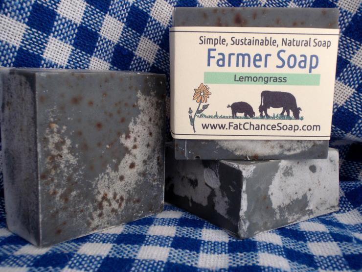 Fat Chance Farm - Charcoal Farmer's Soap