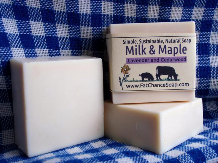 Fat Chance Farm - Milk and Maple Soap