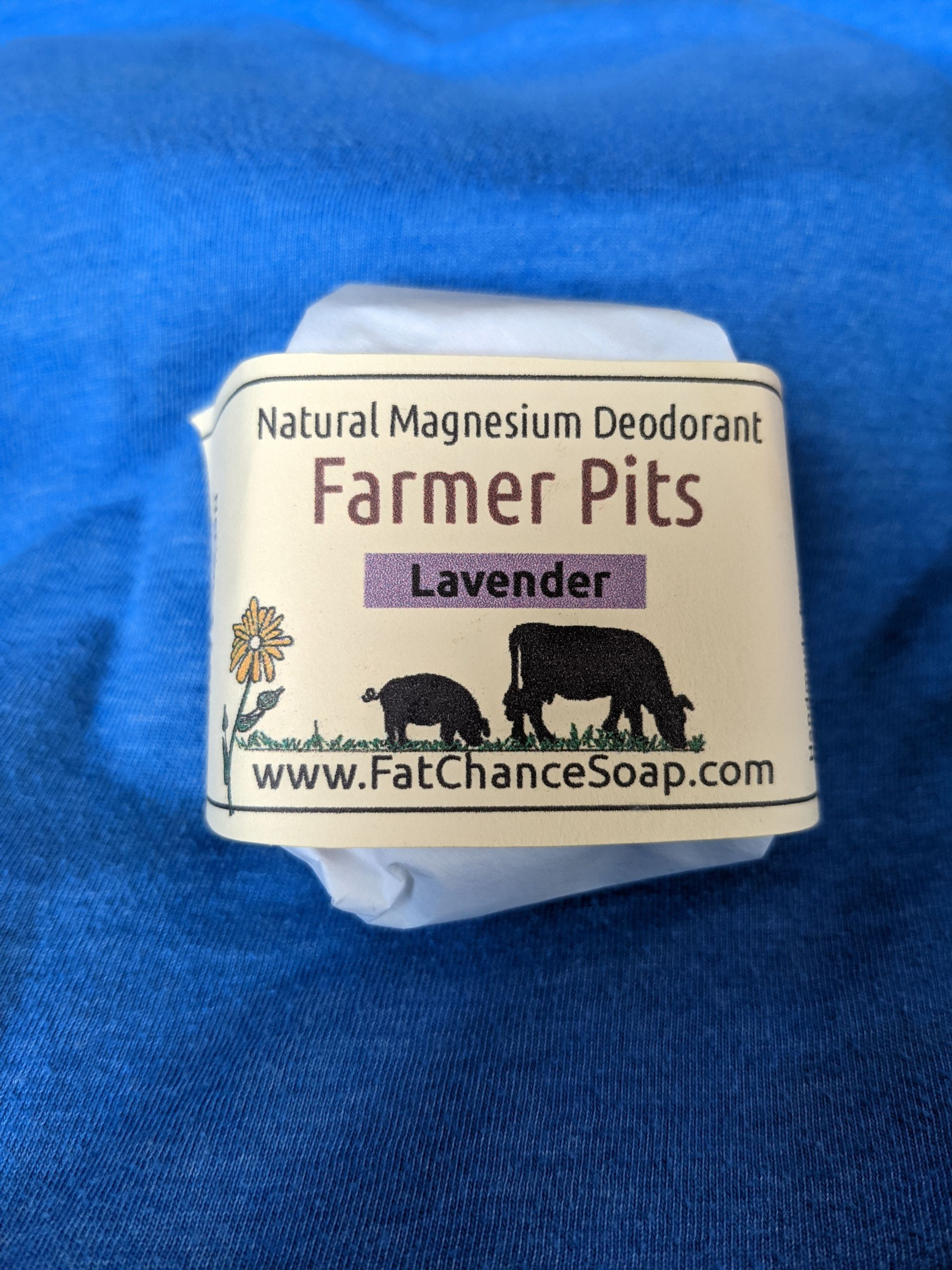 Fat Chance Farm - Natural Deodorant Bar (LV)