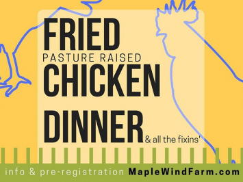 Fried Chicken Dinner- Adult plate July 12