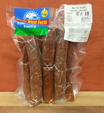 HOUSE MADE Chicken Sausage - Mexican Chorizo (links, 1/2# bag)