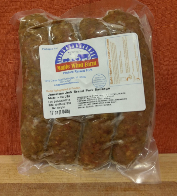 Pork Sausage - Jamaican Jerk