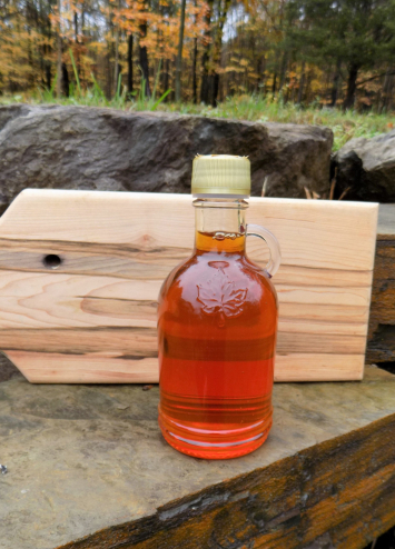 Maple Syrup Glass Bottle - Brigham Hill Maple