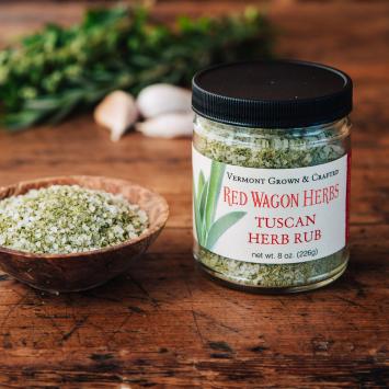Tuscan Herb Rub - Red Wagon Herbs