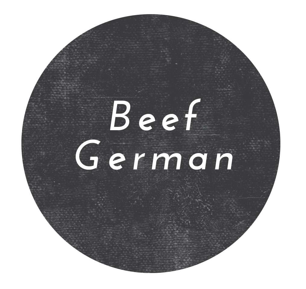 Beef German Sausage- Links