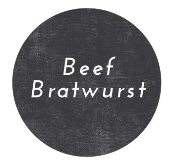 Beef Bratwurst Sausage- Links