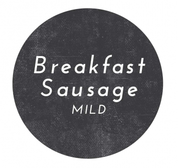 Pork Mild Breakfast Sausage- Bulk