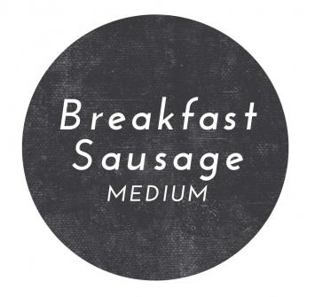 Pork Medium Breakfast Sausage- Bulk