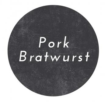 Pork Bratwurst Sausage- Links