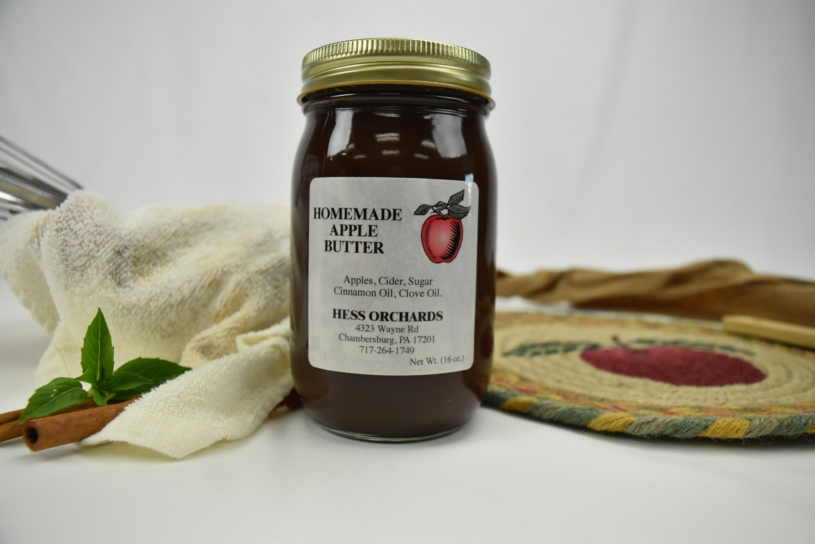 Apple Butter, Sugar and Spice
