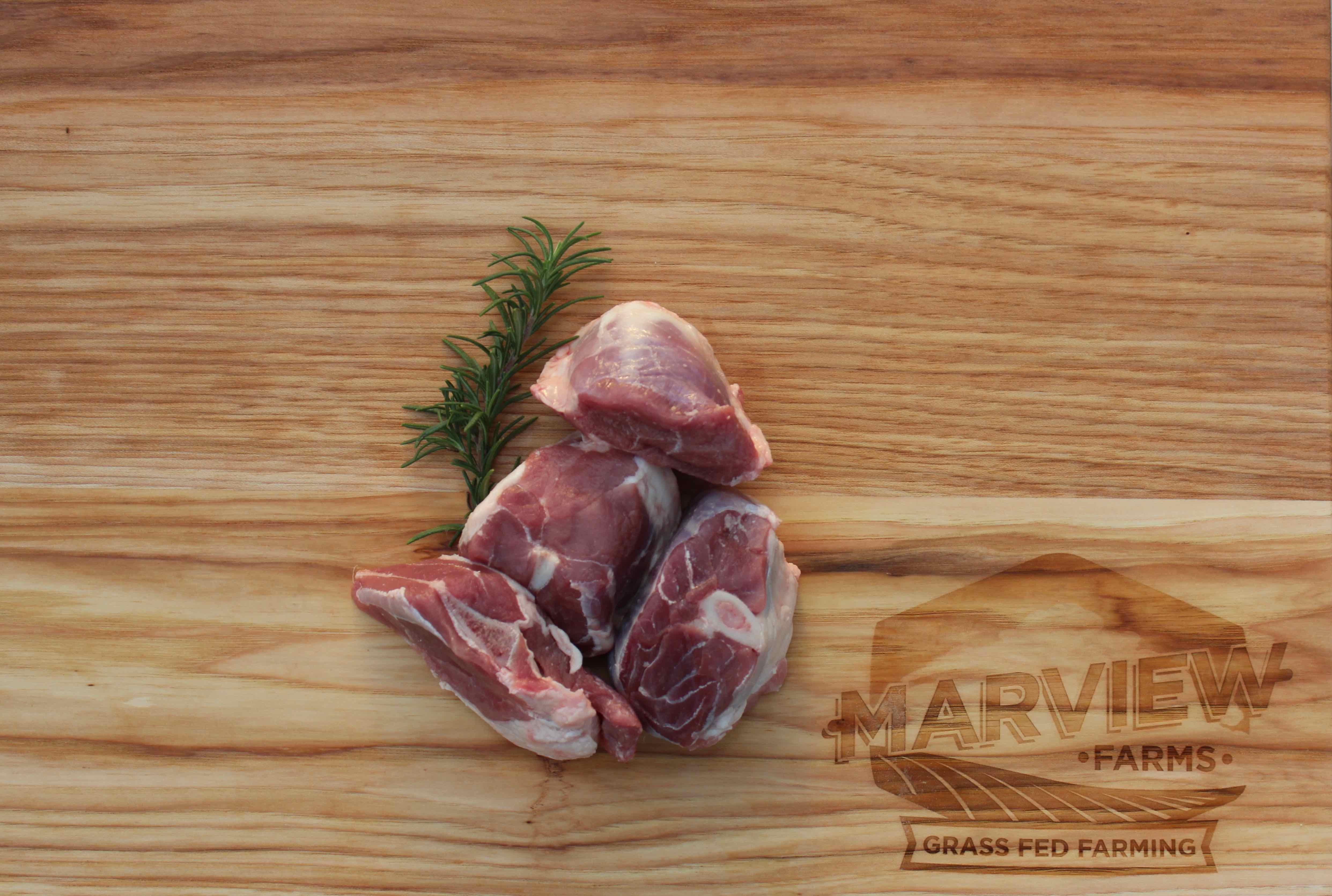 Lamb Stew Meat (Bone-In)