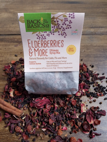 Elderberries & More Ultimate Syrup Mix Packet