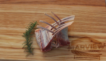 French Loin Rack of Lamb