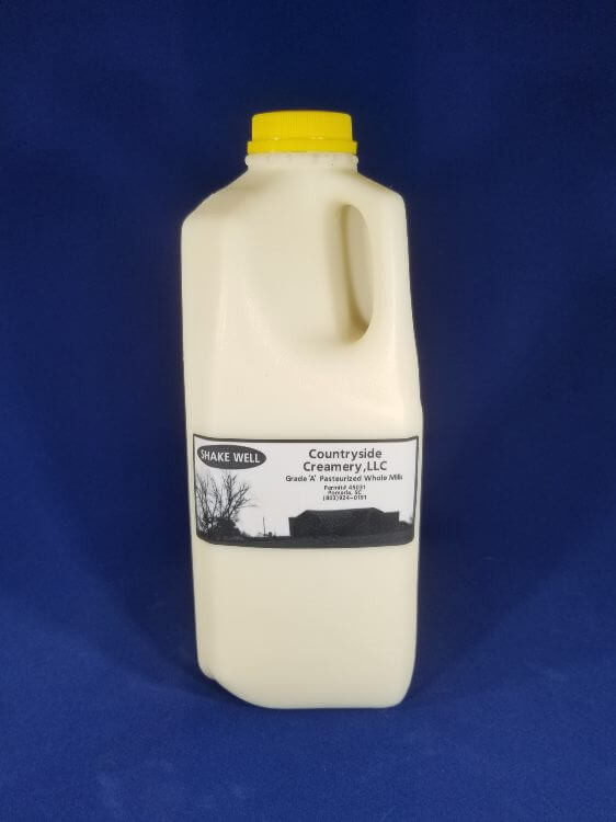 Whole Milk (1/2 gal)