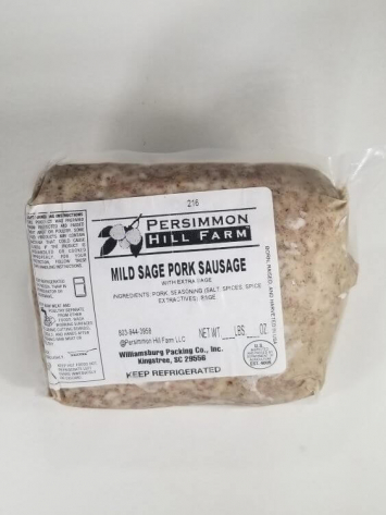 Maple Sage Pork Sausage (Bulk)