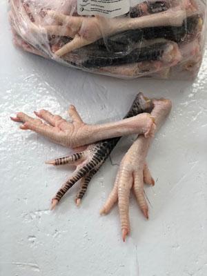 Turkey feet