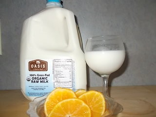 1 Gallon Organic Raw Milk