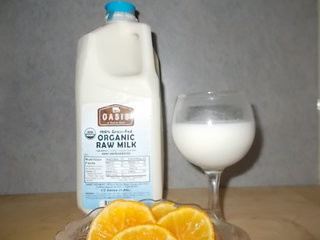 1/2 Gallon Organic Raw Milk