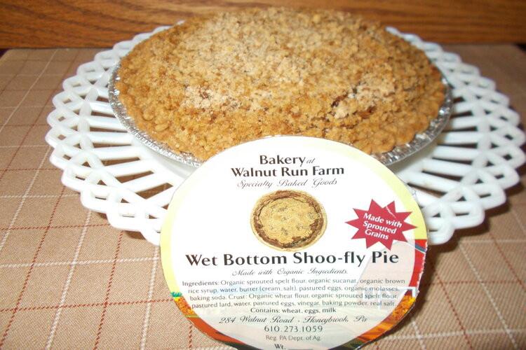 """Shoo-Fly  Pie, Wet  Bottom,   8"""""""