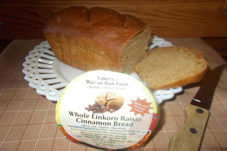 Einkorn  Raisin  Cinnamon  Bread, 10 oz.