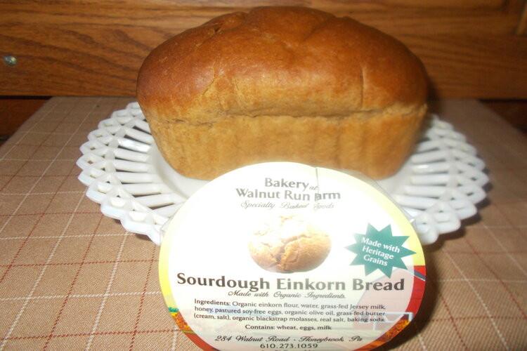 Sourdough  Einkorn  Bread