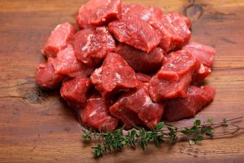 10 lb box Stew Beef - September