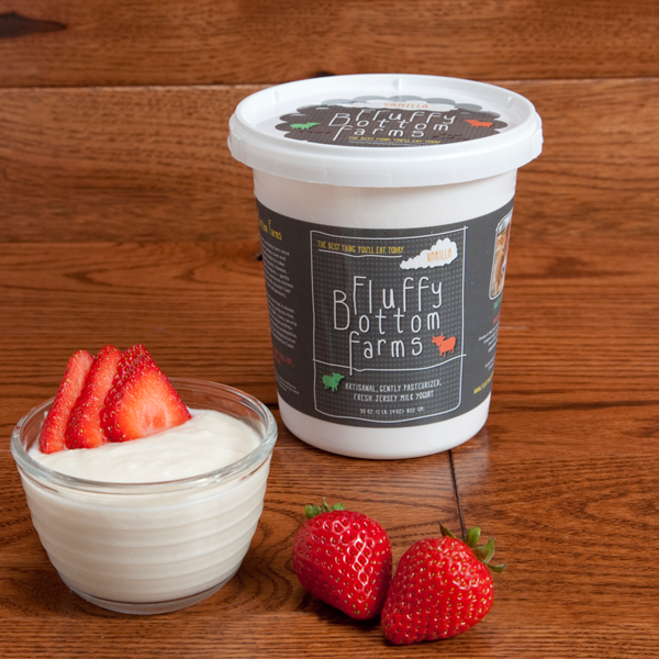 Fluffy Bottom Farms Yogurt - Vanilla 1lb