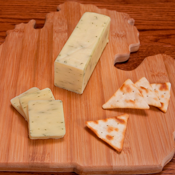 Jack Cheese - Olive 0.50 lbs.  - Farm Country Amish Cheese