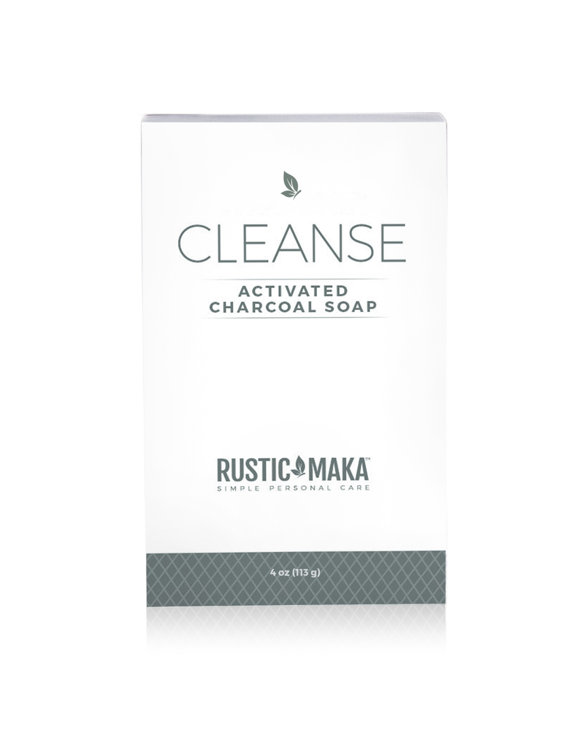 Rustic MAKA CLEANSE - Activated Charcoal Soap