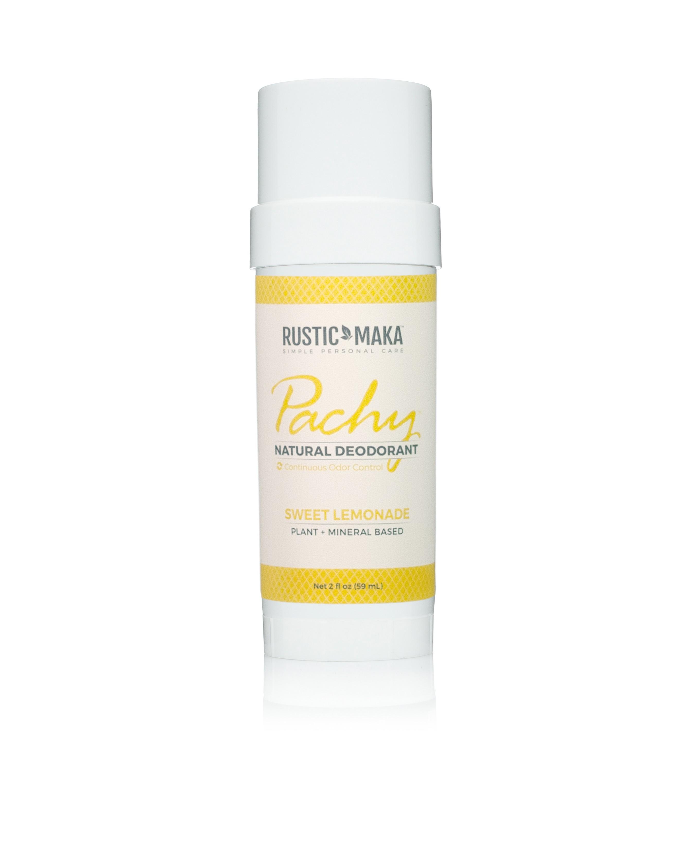 Rustic MAKA Pachy Natural Deodorant Sweet Lemonade - Full Size