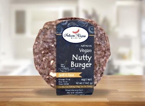 Nutcase Vegan Meats - Nutty Burger