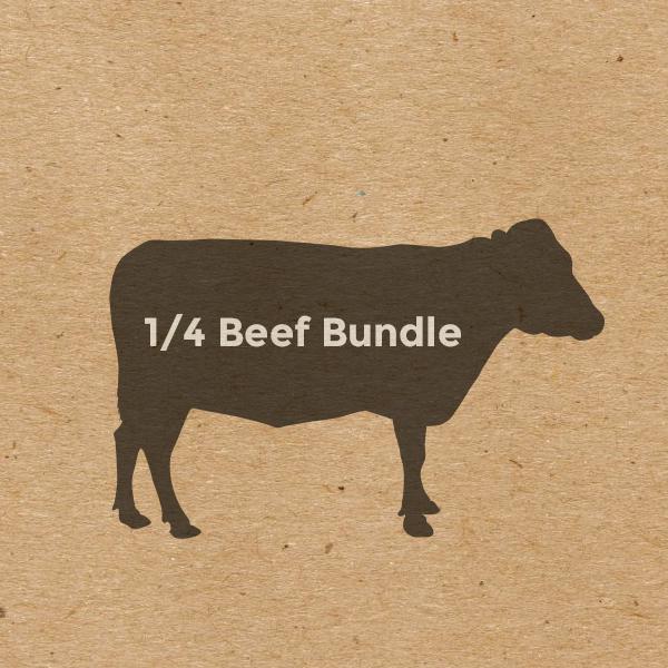 Egeler - Steer, Grass-Fed Beef, 1/4