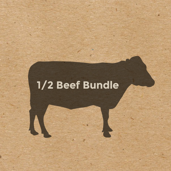Zimba - Steer, Organic Beef, 1/2