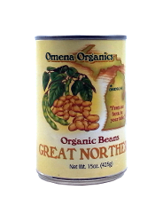Omena Organics - Beans, Great Northern