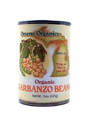 Omena Organics - Beans, Garbanzo