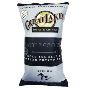 Great Lakes GMO-Free Chips - Sea Salt & Vinegar 16oz
