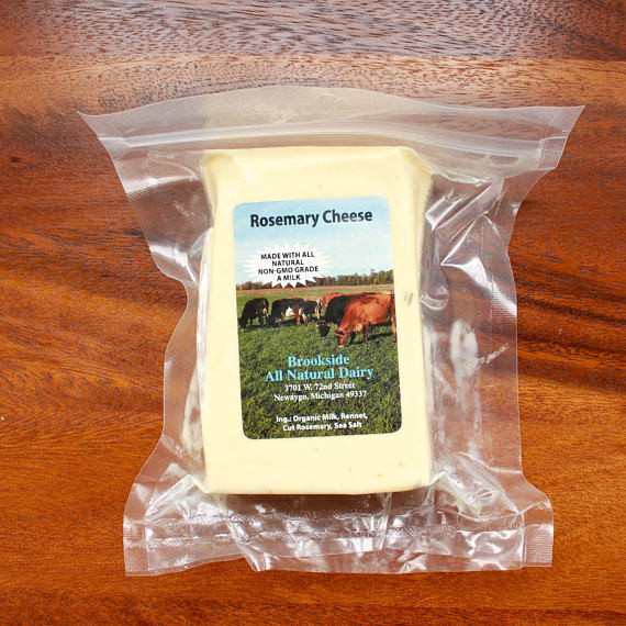 Brookside - Rosemary Colby Cheese 8oz
